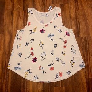 Old Navy Floral Sleeveless Tank